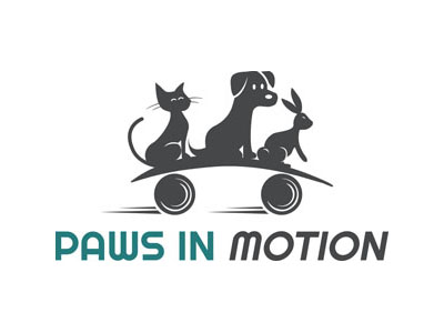 Paw in Motion Full Logo withOUT Veterinary Physiotherapy