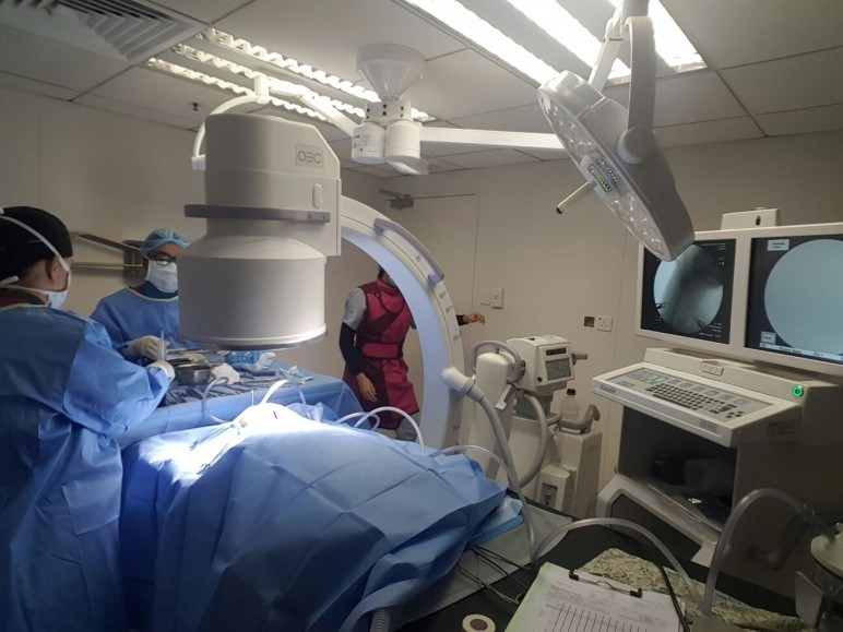 Fluoroscopy at VSH